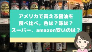 アメリカで買える醤油のイメージ画像