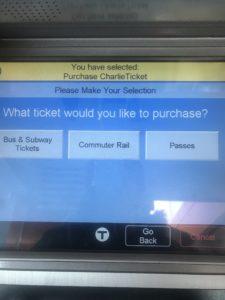 チケット種類選択画面